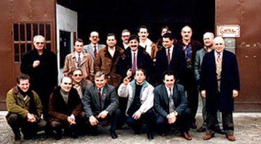 1982 - Gruppo di soci nella vecchia sede